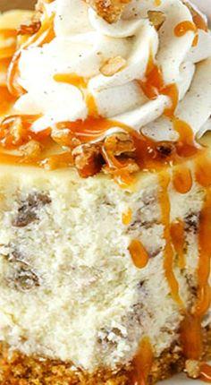 Gebräunter Butter-Pekannuss-Käsekuchen recipes classic recipes easy recipes easy homemade recipes easy philadelphia recipes new york recipes no bake Butter Pecan Cheesecake Recipe, Homemade Cheesecake, Easy Cheesecake Recipes, Cheesecake Cake, Butter Pecan Cheese Cake, Butter Pecan Cookies, Pecan Recipes, Cheese Cakes, Yummy Recipes