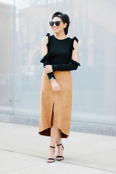 RD's Obsessions: Suede Midi Skirt + Nordstrom Giveaway