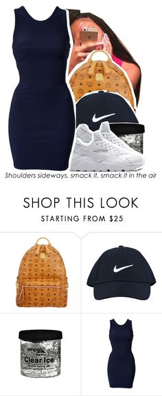 """""""July 21 , 2k15"""" by yungd ❤ liked on Polyvore featuring MCM, NIKE, Oneness, women's clothing, women's fashion, women, female, woman, misses and juniors"""