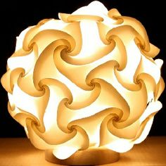 Elastica Light, IQ system used for 60 face polyhedron by Yoshinobu Miyamoto Driftwood Sculpture, Sculpture Art, Sculptures, Paper Art, Paper Crafts, Lighting Concepts, Lighting Design, Flower Lights, So Creative