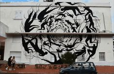 A. L. Crego's Mind Bending Animated GIFs Bring Urban Graffiti and Murals to Life | Junkculture