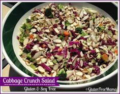 Cabbage Crunch Salad ~ Gluten and Soy Free