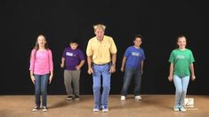 """John Jacobson and friends show us how to dance to the song """"Don't Worry, Be Happy"""" by by Bobby McFerrin and featured in the December 2013 issue of Music Expr. Zumba Kids, Elementary Physical Education, Music Web, Music Express, Music And Movement, Baby G, Friends Show, Don't Worry, Teaching Kids"""
