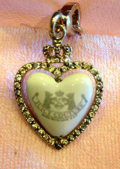 2006 Juicy Couture Heart Spinner Charm VHTF YJRU1085 RARE | eBay