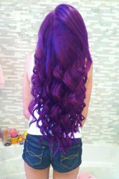 Mauve. THIS is what i need to do to my hair like NOW