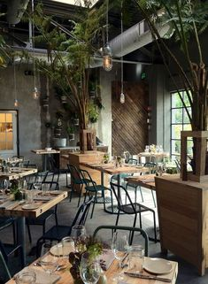 I like the tall plants. With our high ceilings this would help bring the ceiling down. I would get more comfortable looking chairs.: