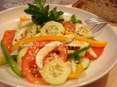 Carpaccio di verdure con sesamo  (Carpaccio de lègumes au sèsame)