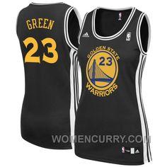 Women s Draymond Green Golden State Warriors  23 Black Jersey New Release e7d406f7f