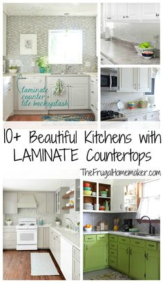10  Beautiful Kitchens with Laminate Countertops