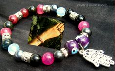 Tourmaline Jewellery – Gems FOR SUCCESS Bracelet, MALA YOGA – a unique product by CamelysUnikatBijoux on DaWanda