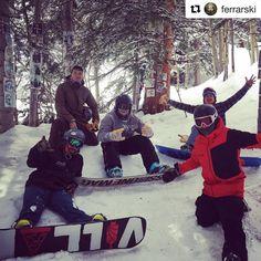 "Instagram: ""#RecoveryThroughSport @aspensnowmass #TeamSemperFi  #Repost @ferrarski ・・・ Out here at the hunter…"""