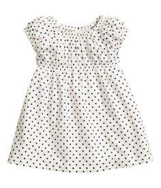 patterned dress, 4 patterns, h & m $5.95