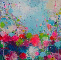 """Saatchi Art Artist Sandy Dooley; Painting, """"Happy"""" #art"""