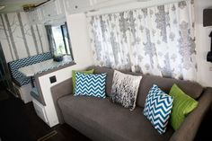 Rv Interior Remodeling Ideas | RV/Motorhome Interior Remodel...love it and great ideas