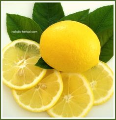 Holistic Herbal: Lemon Lore - Therapeutics