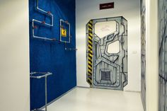 office project Ezzo Design 11 Quirky Spaceship as Game Studio Office by Ezzo Design