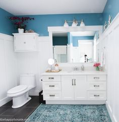 How to Completely Organize Your Bathroom - The Happy Housie
