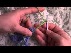 Friday Crafts: Changing Colors with Corner to Corner Crochet (C2C) | ♥ GJB ♥