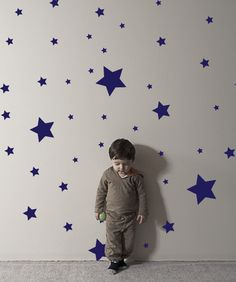 Vinyl Wall Decal Sticker Various Sizes of Star Shapes #843 | Stickerbrand wall art decals, wall graphics and wall murals.