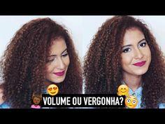 COMO PERDER A VERGONHA DE USAR O CABELO COM VOLUME? | Mari Morena - YouTube