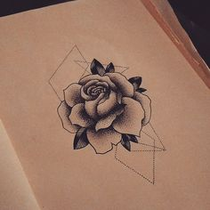 Dotwork rose available! Email jeslondontattoo@gmail.com for appointments