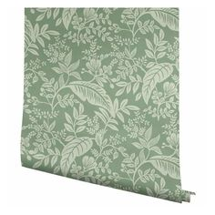 Tropical leaves and greenery are layered to create Canopy, a lush, two-color print that is both modern and sophisticated. This wallpaper is screen printed and comes in 27 inch rolls with a 25.25 inch repeat.Due to the printing process, there may be color variations in different print runs. We suggest purchasing all wallpaper needed for a project at one time for the best color consistency.We suggest consulting a professional prior to purchasing to determine how many rolls are needed. If your Pattern Matching, Wallpaper Panels, Rifle Paper Co, Office Walls, Tropical Leaves, Printing Process, Canopy, Screen Printing, Color Print
