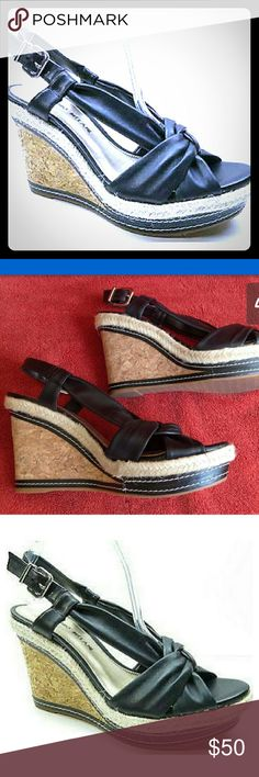 Antonio melani size 8 wedge shoes New without tags ...Antonio melani wedges heels ..so cute and this is am amazing price considering what they cost new at the retail stores ANTONIO MELANI Shoes Wedges