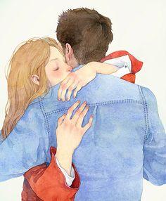 #love #illustration #hug