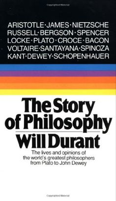 The Story of Philosophy: The Lives and Opinions of the World's Greatest Philosophers by Will Durant http://www.amazon.com/dp/0671739166/ref=cm_sw_r_pi_dp_9aqPtb025ATE1X2P