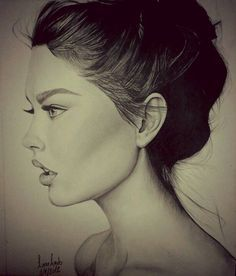 face side profile drawing google search more drawing faces drawing ... Woman Side Profile Drawing