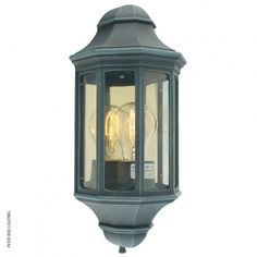 Elstead Malaga Flush Outdoor Wall Light Lantern Verdigris: The Malaga Flush Wall Lantern Light has traditional styling with glass panels and reflector Outdoor Flush Mounts, Outdoor Wall Lantern, Outdoor Wall Sconce, Outdoor Wall Lighting, Outdoor Walls, Glass And Aluminium, Garage Lighting, Malaga, Glass Panels
