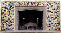 Cincinnati Fireplace - Joyce Kozloff