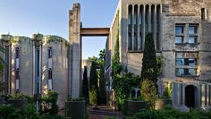 Architect Ricardo Bofills Abandoned Cement Factory Residence and Studio