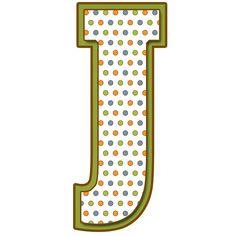 Letras  Mayúsculas para imprimir de bolitas de colores. Letra J. Monogram Alphabet, Alphabet And Numbers, Abc Letra, Little Bit Of You, Minnie Png, Home Learning, Gifs, Initials, Projects To Try