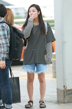 Image result for wheein airport fashion