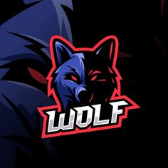 Wolf esport logo awesome Premium Vector | Premium Vector #Freepik #vector #logo #sport #internet #game Team Logo Design, Bakery Logo Design, Identity Design, Brand Identity, Logo Gamer, Sports Team Logos, Logo Sport, Vector Logos, Logo Animal