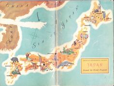 Old Map of Japan