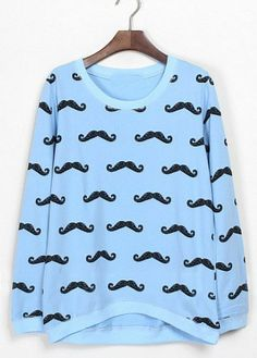 Mustaches have gotten too popular now. They are in places they have absolutely no business being. However, this is not one of those cases, and I NEED THIS.