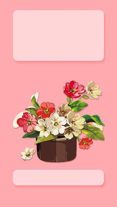 Pink Flower Bouquet iPhone Wallpaper Lock Screen