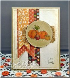 Digital stamp:  Blessed Harvest by Whimsy & Stars Studio  Card: By Cheryl (Shestamps)