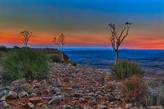 Sunrise over Fish River Canyon, Namibia, Africa. BelAfrique - your personal travel planner - www.BelAfrique.com