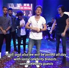 This perfect freudian slip. | The 33 Best Things That Happened On 1D Day