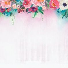 Scrapbookový papír 13 Arts / Out of the Blue / Spring Blossoms