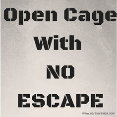 #Poem on emotional and psychological abuse. Open cage with no escape - the cage created by emotional abuse.
