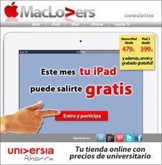Este mes puede salirte gratis tu iPad