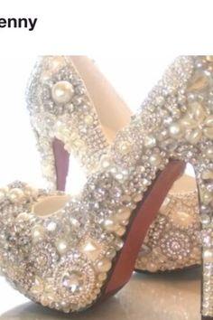 Louboutin wedding shoes...... I DO!!!