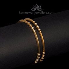 Elegant gold bangles collections by Kameswari Jewellers. Buy gold bangles online from South India's finest goldsmiths with 9 decades of expertise. Gold Bangles Design, Gold Earrings Designs, Gold Jewellery Design, Gold Designs, Diamond Bangle, Diamond Jewelry, Diamond Mangalsutra, Quartz Jewelry, Diamond Necklaces