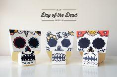 DIY Day of the Dead Skulls