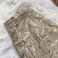 Anthropologie gold sequin mini skirt Perfect skirt for any occasion from a date to a work party. Delicate design. Plenty by travy reese. Champagne color. Plenty by Tracy Reese. Offers welcome through offer tab. No trades. 30916210 Plenty by Tracy Reese Skirts Mini
