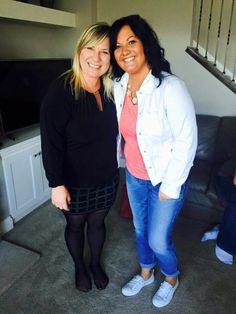 Heidi and Tawnya